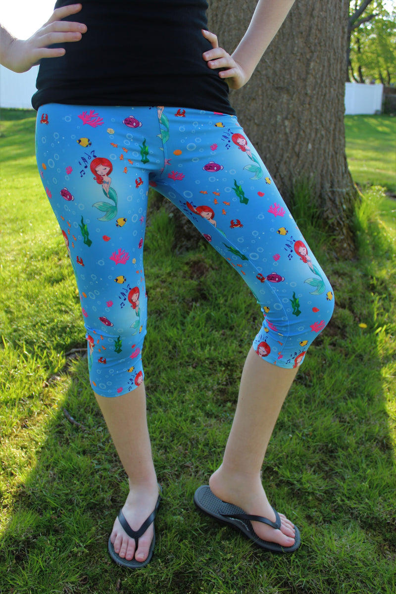 Ocean Princess Capris- Women's