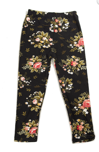 Irish Garden - Girls Leggings