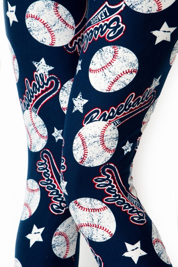 Home Run - Women's Plus Size 3X-5X Leggings