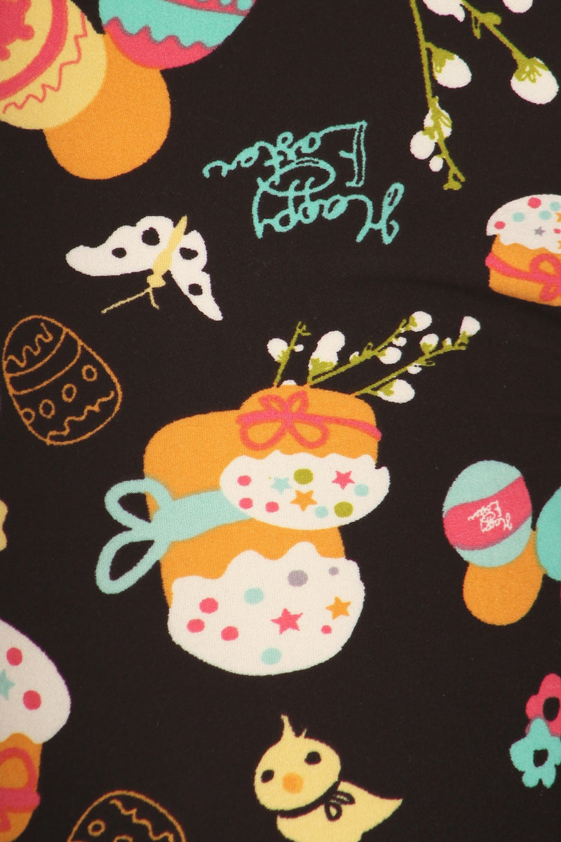 Hare Raisingly Sweet - Girls Leggings