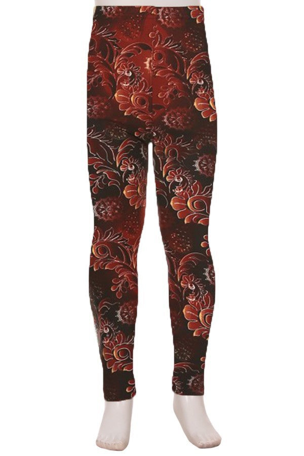 Glowing Garden - Girls Leggings
