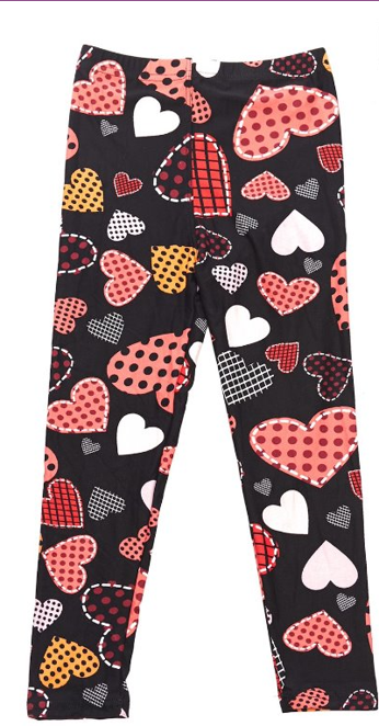 Love Those Patches - Girls Leggings