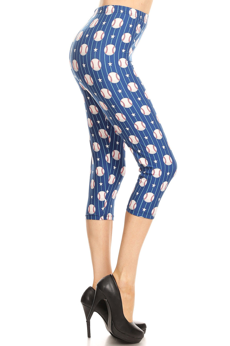 Batter Up - Women's Plus Size Capris