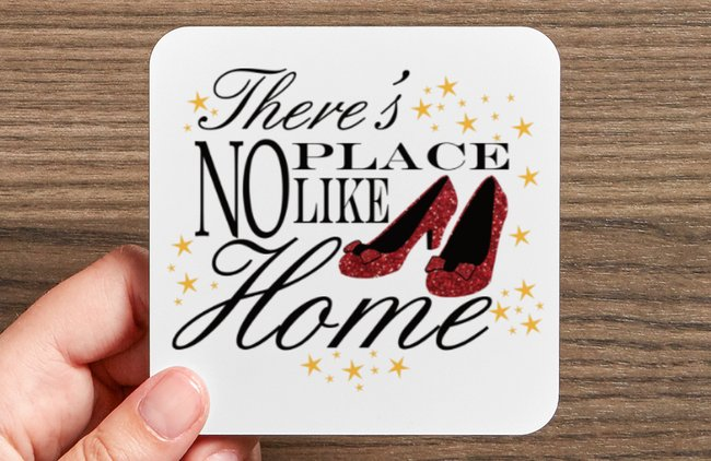 There's No Place Like Home Coaster Set