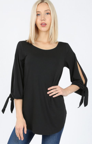 The Paula - Women's Top in Black