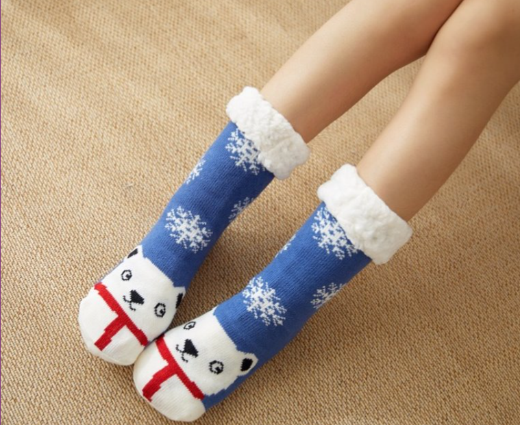 Polar Bear Slipper Socks