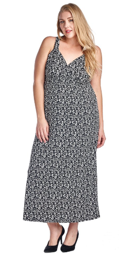 The Rachel - Women's Plus Size Maxi Dress