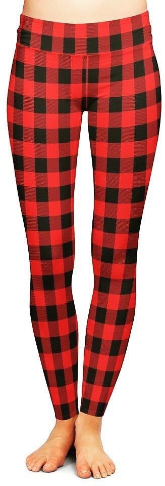 Maple Charm - Women's Plus TC Size Leggings