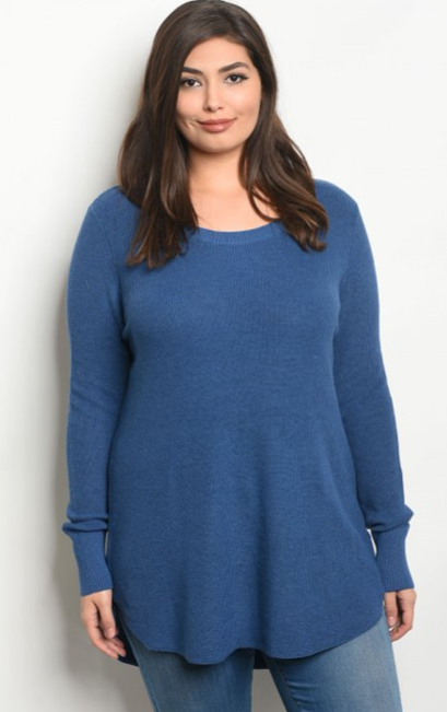 The Robin - Women's Plus Size Sweater