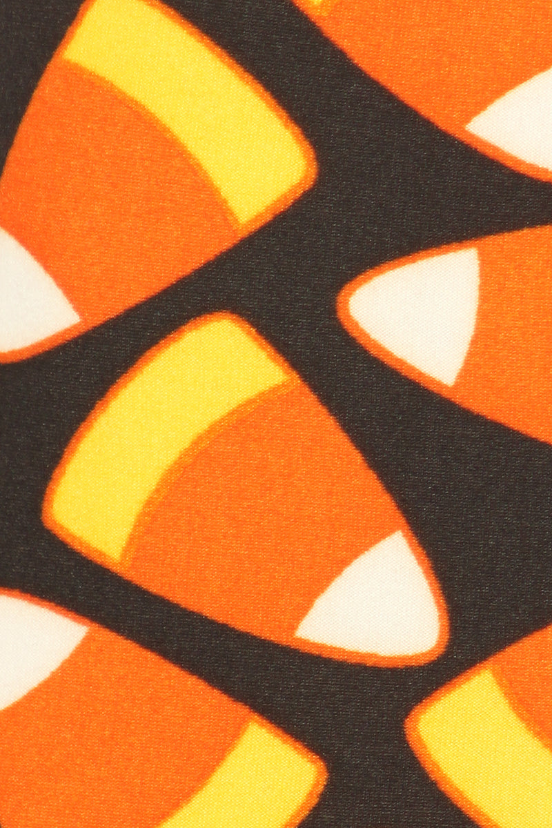Girls Candy Corn Leggings - Apple Girl Boutique