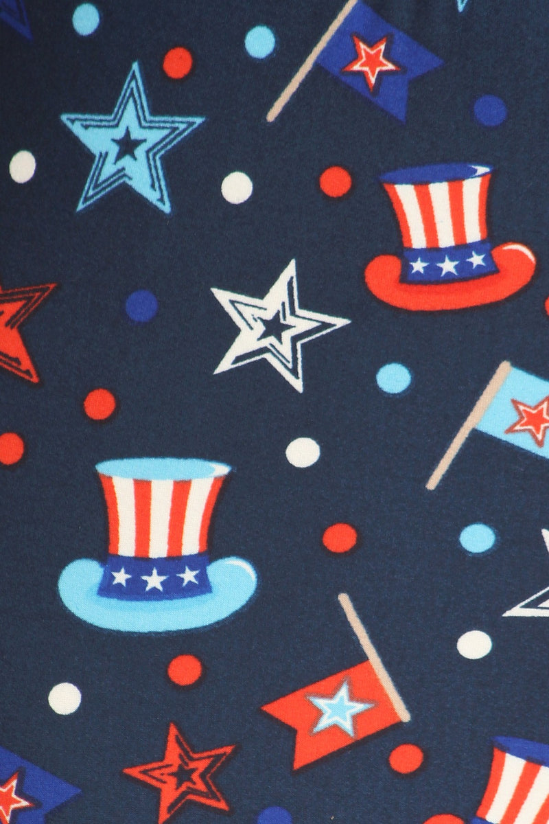 Hats Off America - Girls Leggings