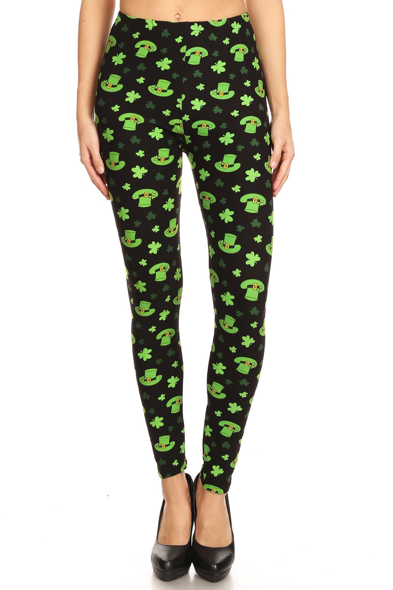 Lots O' Luck - Women's One Size Leggings