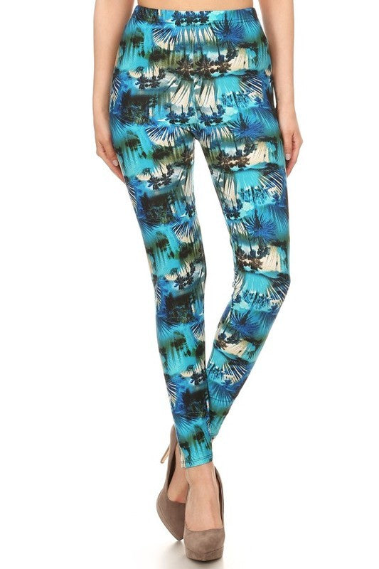 Paradise - Women's One Size Leggings
