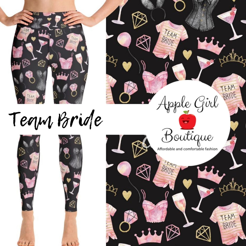 Team Bride - Women's One Size Leggings
