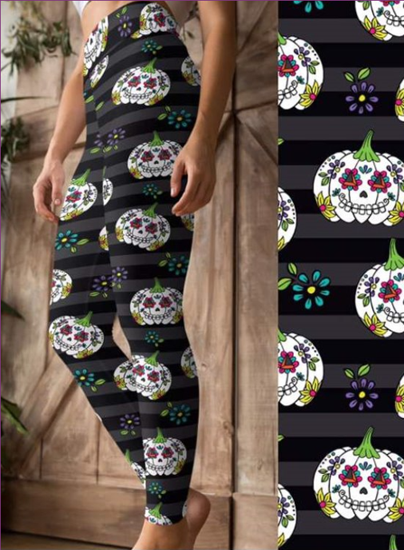Fall Harvest - Women's One Size Leggings