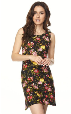 The Ashley - Women's Floral Printed Mini Dress