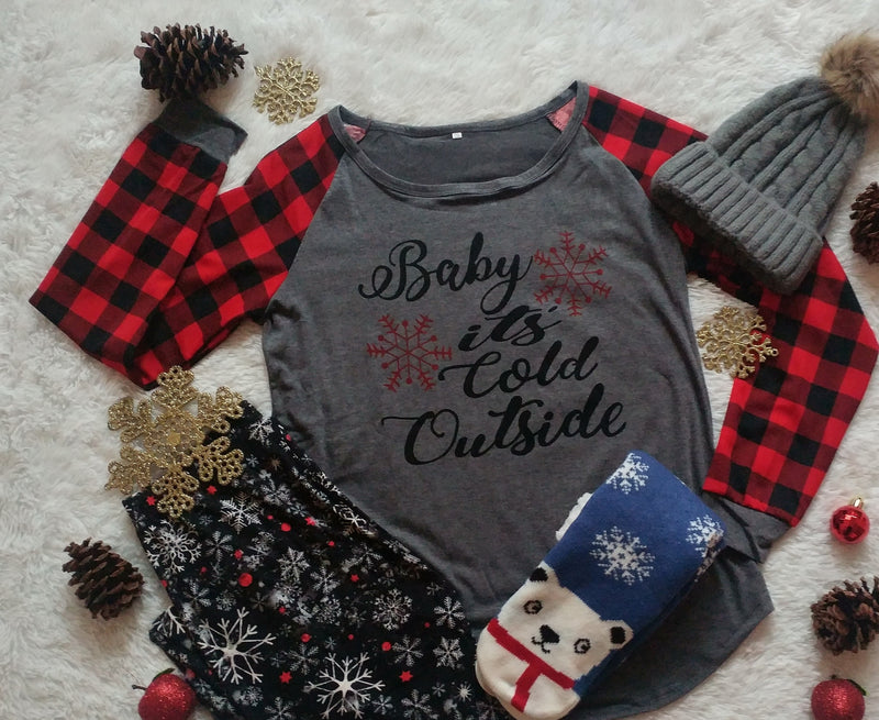 Baby It's Cold Outside - Women's Top