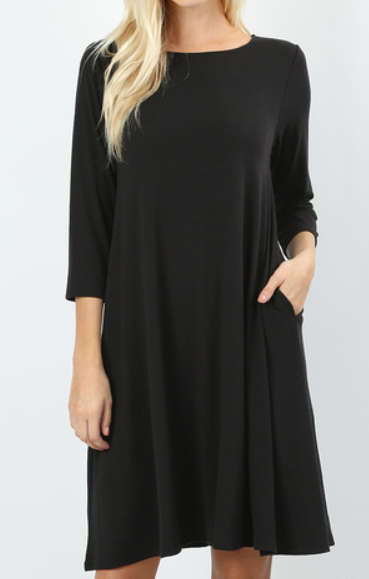 The Paige - Women's Plus Size Flare Dress