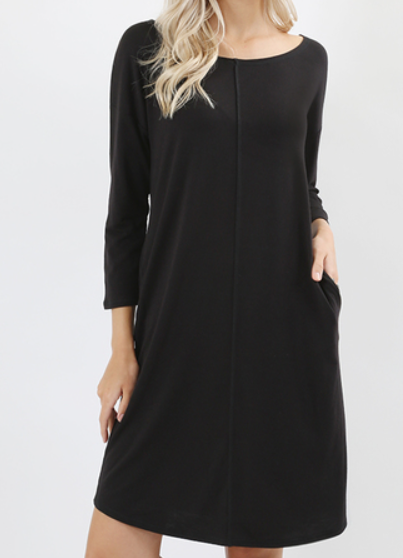 The Sadie - Women's Mid Sleeve Dress