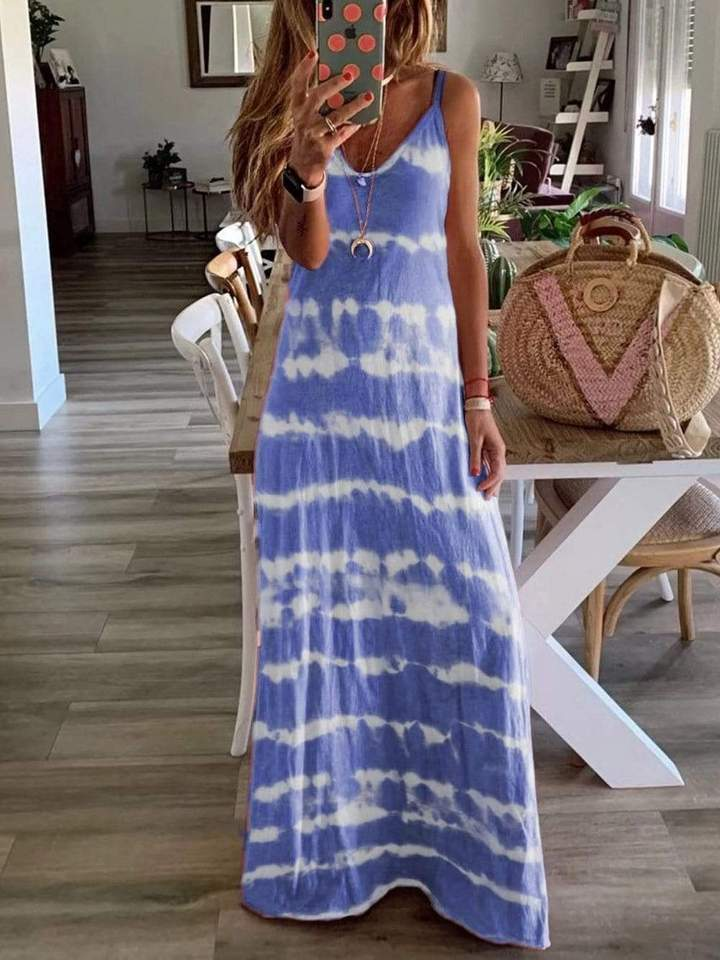 The Sandy - Women's Maxi Dress
