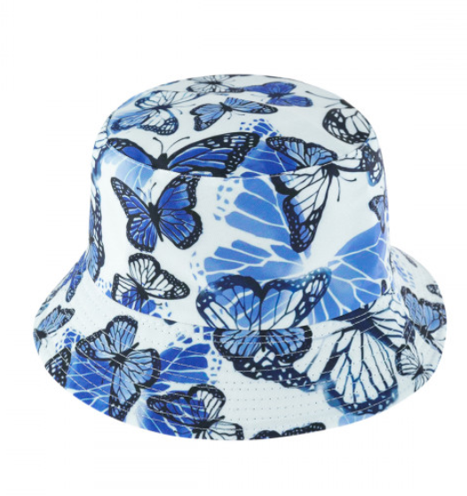 Butterfly Reversible Bucket Hat