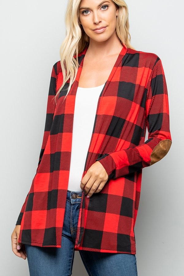 The Colby - Women's Cardigan with Elbow Patches