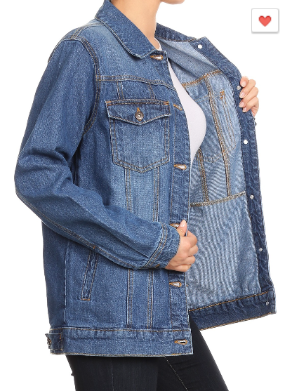The Jeannie - Women's Denim Jacket