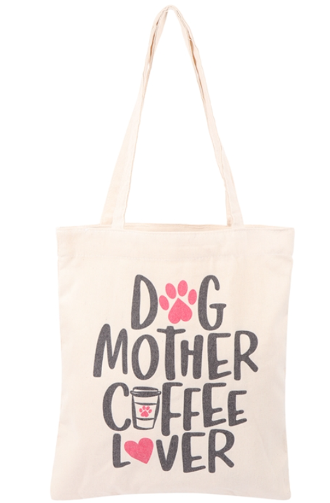Dog Mother Cover Lover Tote Bag