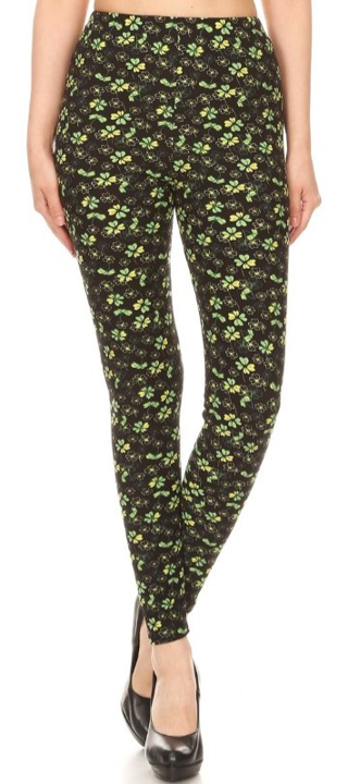 Field of Clovers - Women's 3X/5X Leggings