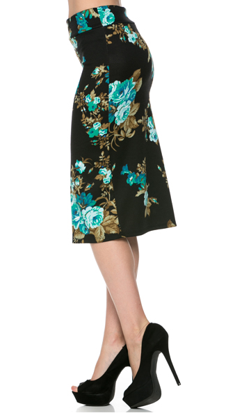 Floral Inspiration - Women's Pencil Skirt