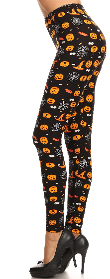Witching Hour - Women's One Size Leggings