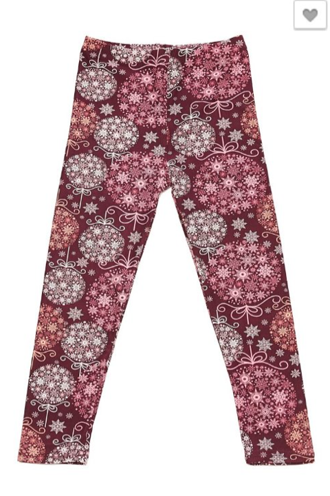 Holiday Wishes - Girls Leggings