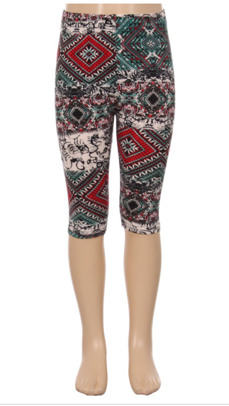 Jeweled - Girls Capris