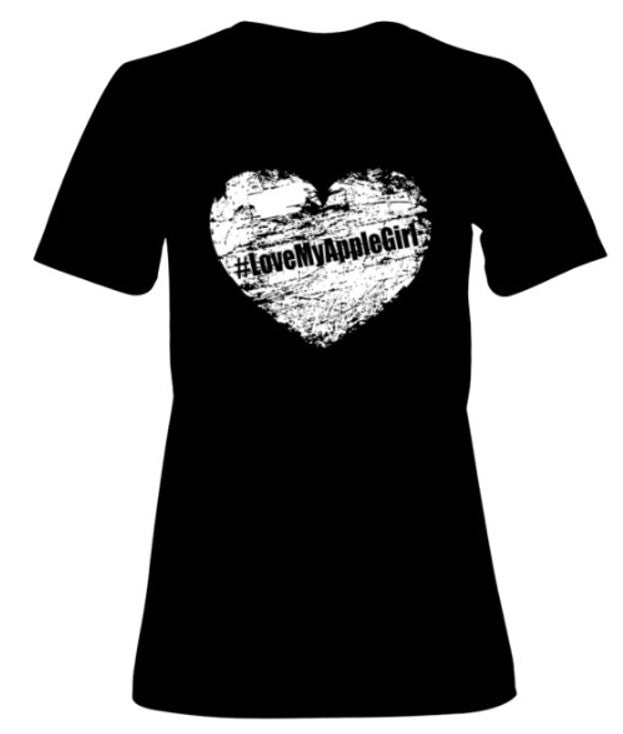 #LoveMyAppleGirl Official Tee Shirt