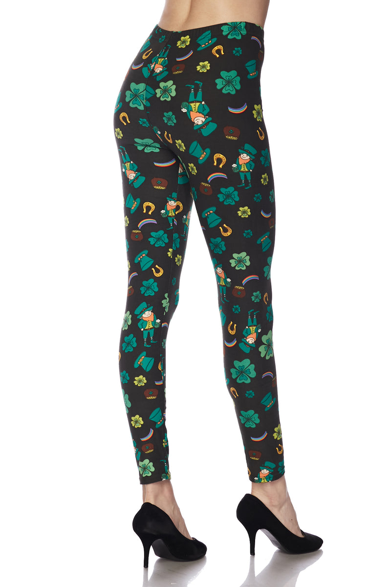 Me Lucky Charms  - Women's Plus Size Leggings