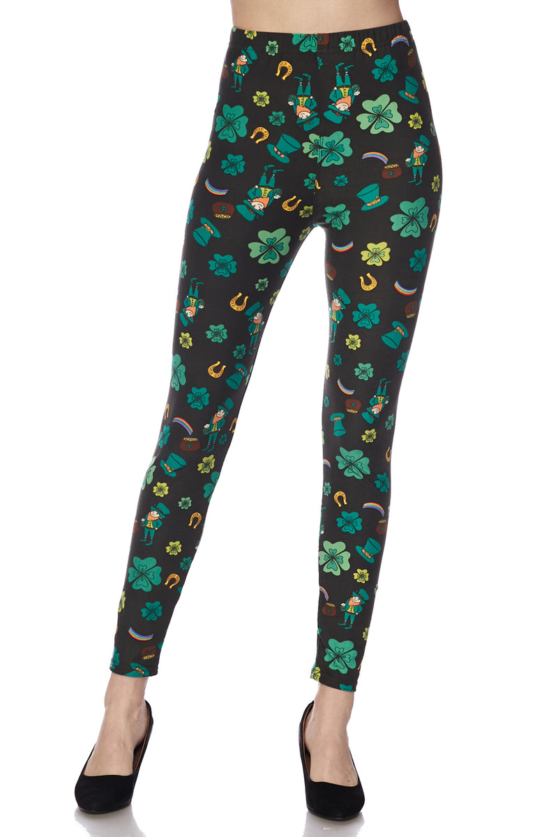 Me Lucky Charms  - Women's 3x Extra Plus Size Leggings