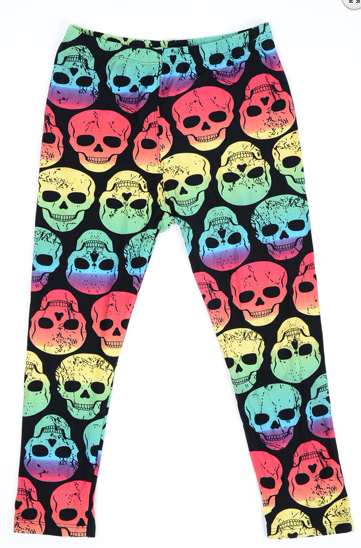 Rainbow Zombies - Girls Leggings