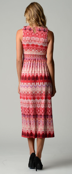 The Shawna - Women's Ruffled Maxi Dress