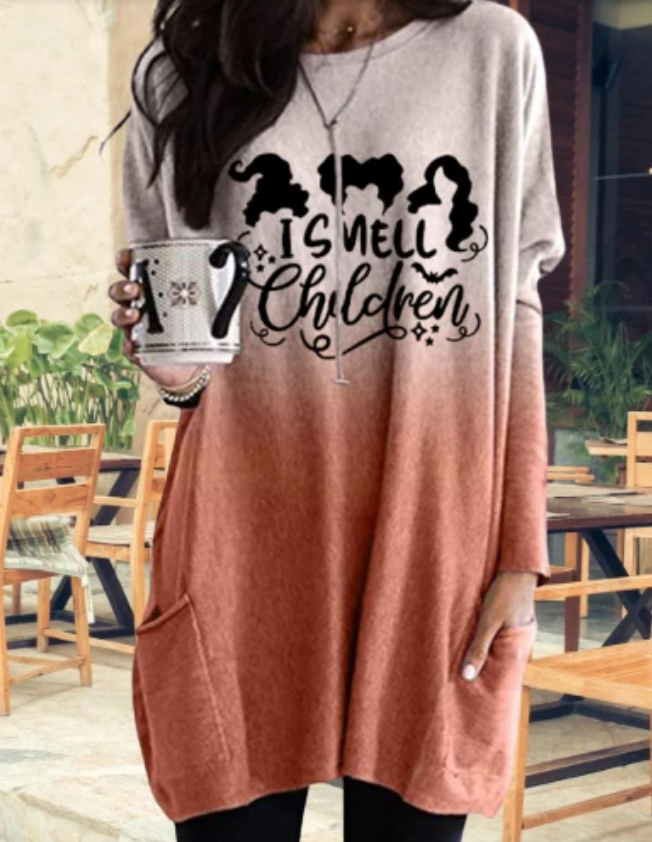 I Smell Children - Women's Long Tunic