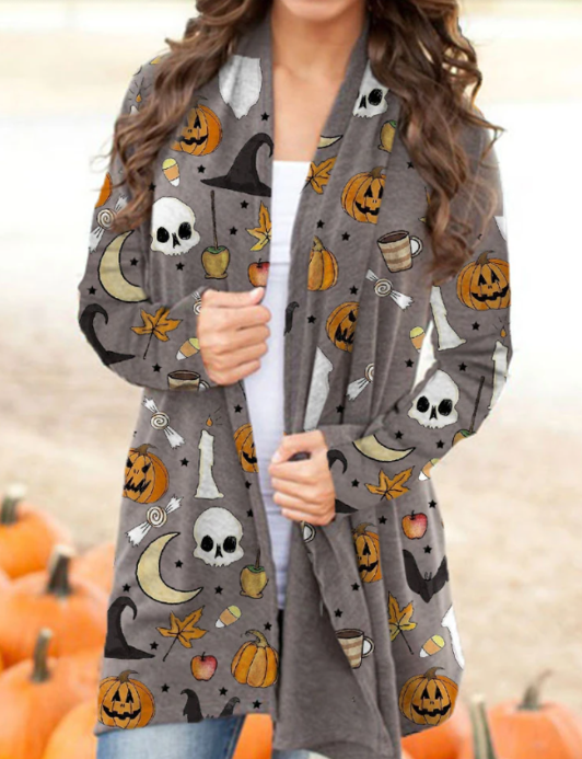 Spooky Season - Women's Cardigan
