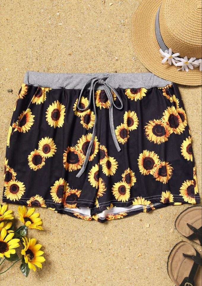 Sunny Days Lounge Shorts- Women's & Girls