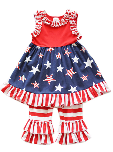Lil Miss Independence - Girls Two Piece Set