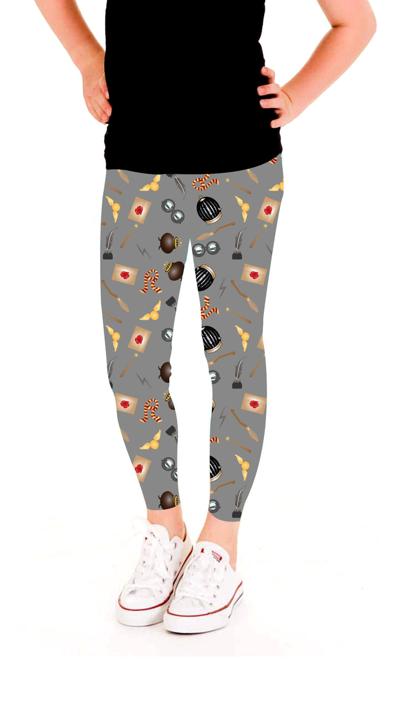 Wizard in the Making Leggings- Girls