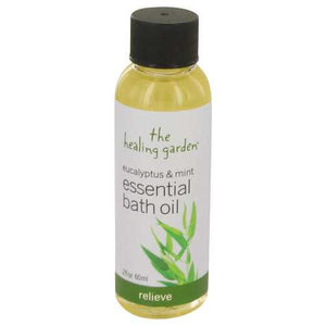 Eucalyptus & Mint by The Healing Garden Bath Oil - Relieve 2 oz (Women)