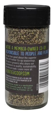 Frontier Natural Products Pepper, Og, Black, Coarse Grind, 1.76-Ounce