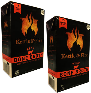 Chicken Bone Broth by Kettle & Fire - Organic, Collagen-rich Chicken Bone Broth, 16.9 Ounce, 1-Pack