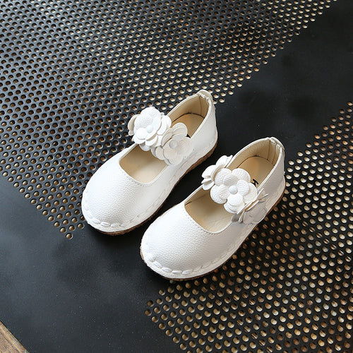 2017 Casual Children Shoes Candy Color Girls Shoes New Autumn Bow Fahion Baby Girls Sneakers Kids Soft Single Shoe Size 21-30