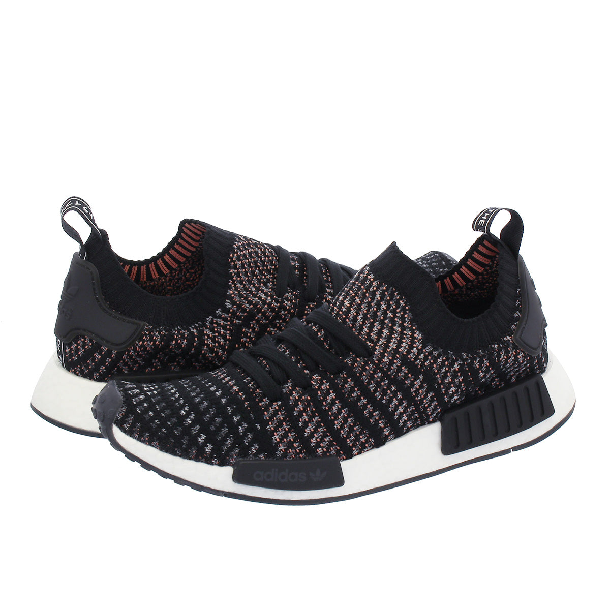new style 84fad 12f07 Adidas Men's Originals NMD R1 STLT Black Gray Pink