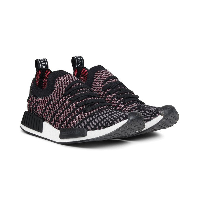 new style 950d0 36d26 Adidas Men's Originals NMD R1 STLT Black Gray Pink