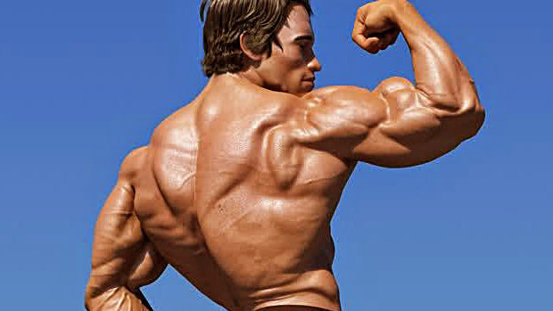 Arnold Schwarzenegger has high testosterone levels